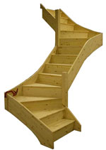 Z-Form Winder staircase