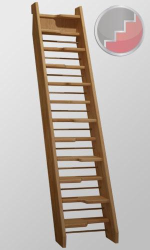 Birch 24 Spacesaver Staircase