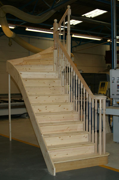 Pne cut string staircase