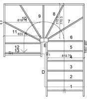 Staircase Drawings Online From The Staircase Specialists