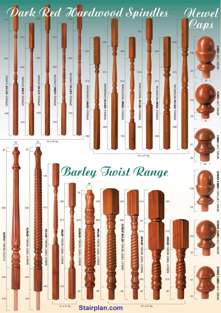 Hardwood Stairparts From Stairplan Cheshire Range